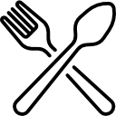 Illustration of a fork and spoon
