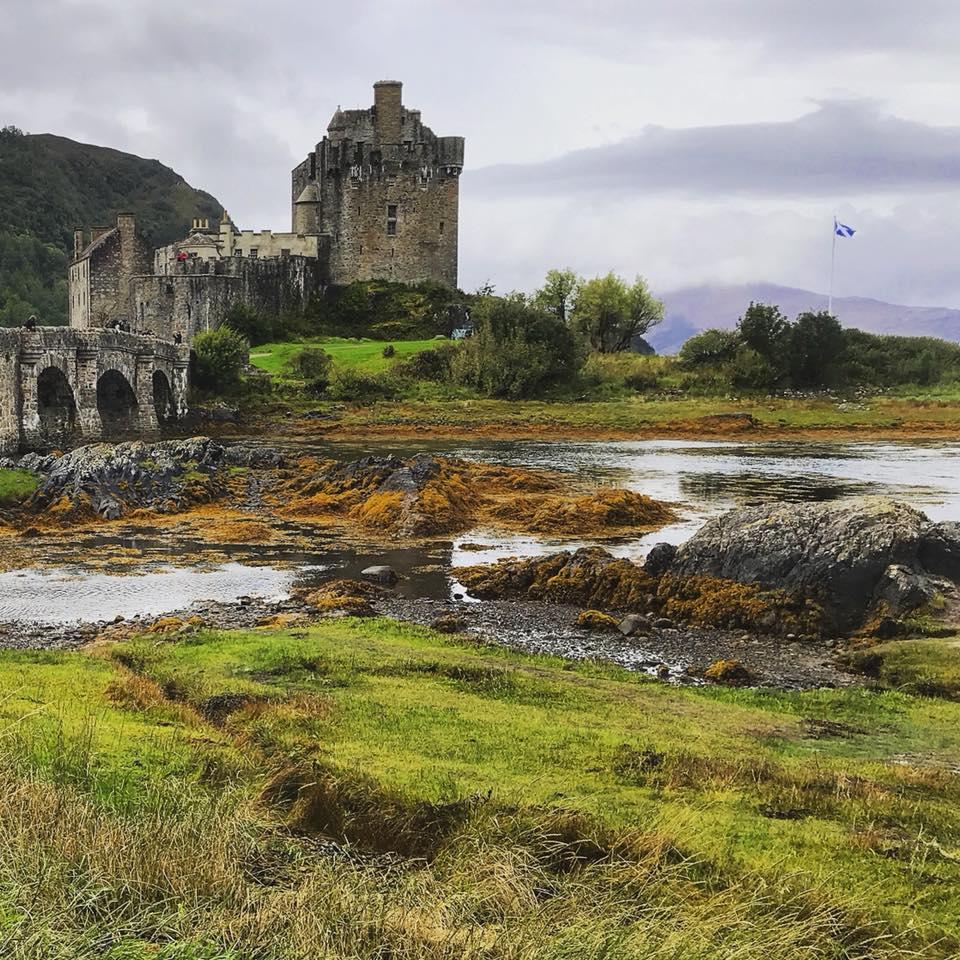 Photo of the Eileen Donan Castle